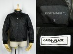 SOPHNET. ソフネット 09-10AW WASHED LEATHER STAND COLLAR BLOUSON 買取査定