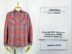 visvim ビズビム BLACK ELK FLANNEL RED/BLUE S チェックネルシャツ 買取査定