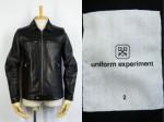 ユニフォーム・エクスペリメント uniform experiment シングルライダース 買取査定