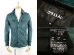 12SS SHELLAC シェラック 直営店限定 レザーシャツ 買取査定