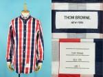 THOM BROWNE トムブラウン トリコロール チェッカーボードシャツ 買取査定