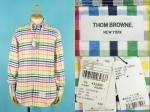 THOM BROWNE トムブラウン レインボーカラー オックス BDシャツ 買取査定