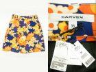 CARVEN カルヴェン フラワー キャディースカート オレンジ 買取査定