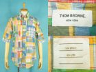 THOM BROWNE トムブラウン 半袖 パッチワークシャツ 買取査定