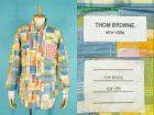THOM BROWNE トムブラウン 長袖 パッチワークシャツ 買取査定