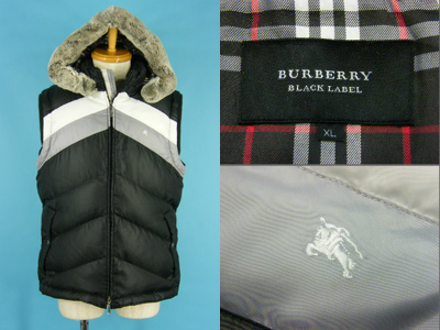 BURBERRY BLACK LABEL 売却