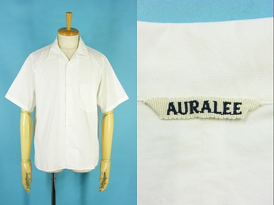 AURALEE オーラリー A7SS02WC オープンカラー 半袖シャツ  買取査定
